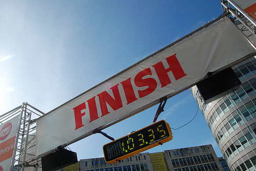 Finish Line by jayneandd on Flickr